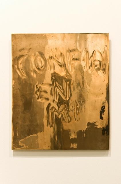 José María Sicilia, 'Eco (Confia en mi)', 2009-2011, Maison Particulière