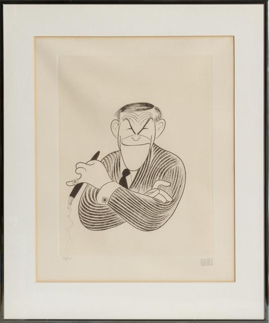 Al Hirschfeld, 'George Burns', 1982, RoGallery