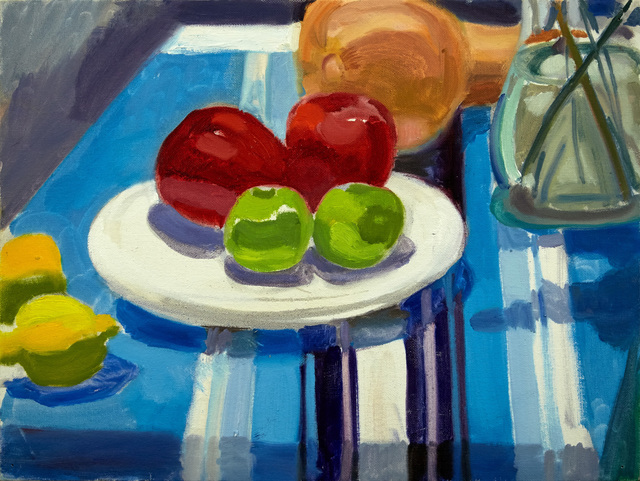 , 'Four Apples, Lemons and Squash,' 2016, BCK Fine Arts Gallery at Montauk
