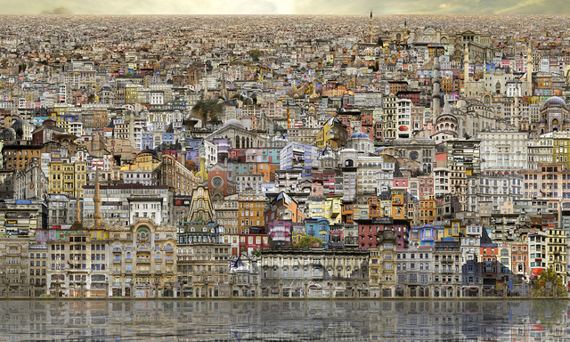 , 'Istanbul Veduta,' 2014, Villa del Arte Galleries