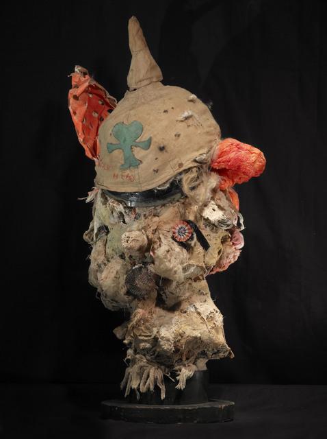 , 'Wolf Head,' 2014, Sardac