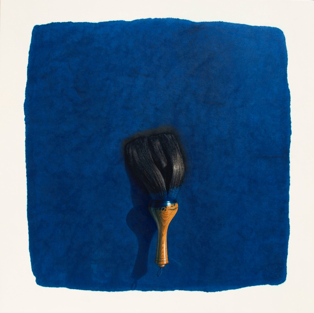 , 'Brush_Blue,' 2018, Opera Gallery