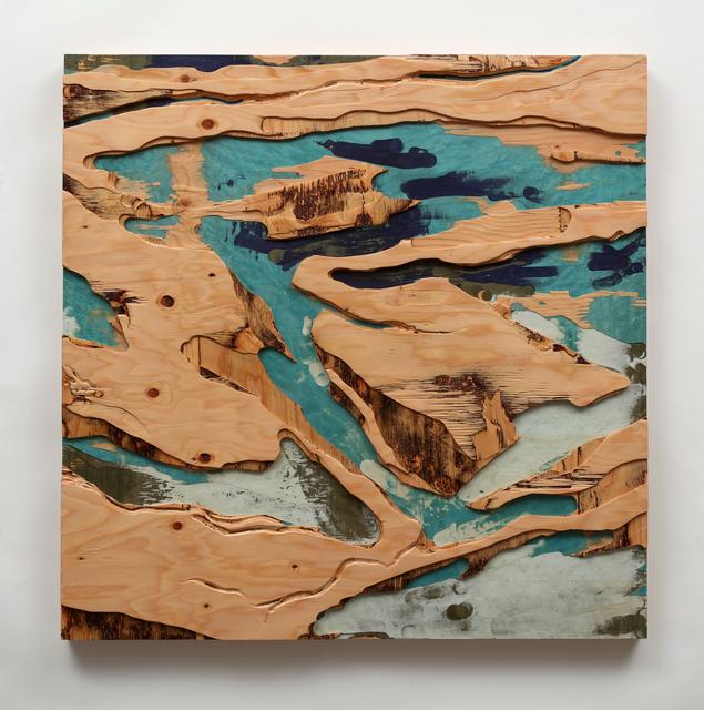 , 'Across Land and Sea II,' 2017, CYNTHIA-REEVES