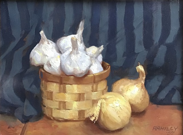 Paul Rahilly, 'Garlic and Onions', 2007, Painting, Oil on canvas, Gallery NAGA