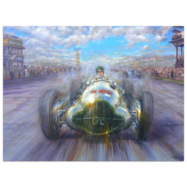 , 'Famous Victory | Mercedes | Automotive | Car,' 2017, Whyte Fine Art