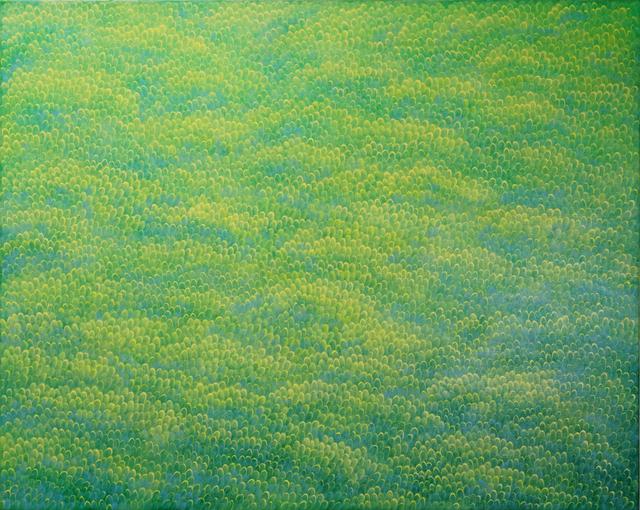 , 'Flow-green,' 2017, ART MORA