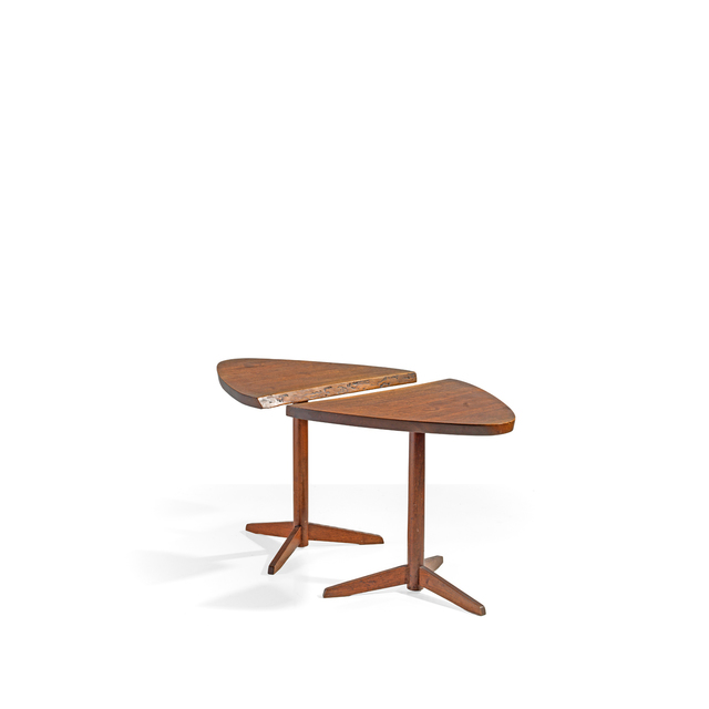 George Nakashima, 'Pair Of Side Tables', 1962, PIASA