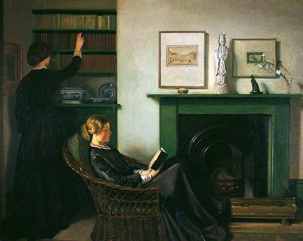 , 'The Browning Readers,' 1900, Ben Uri Gallery and Museum