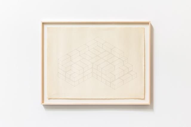 , 'Baksteentekening,' 1969, Tatjana Pieters