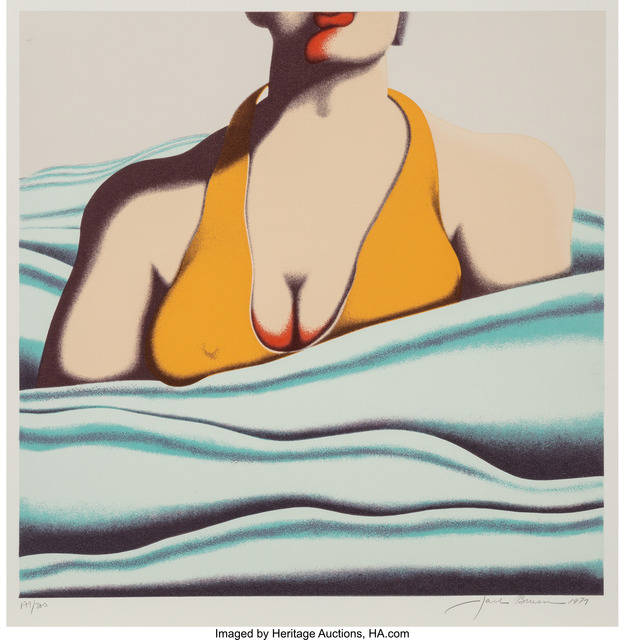 Jack Brusca, 'The Beach', 1979, Heritage Auctions