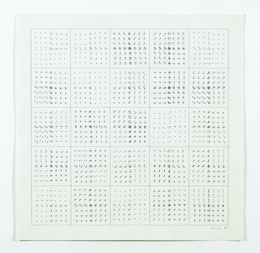 Manfred Mohr, 'P-186d', 1976, bitforms gallery