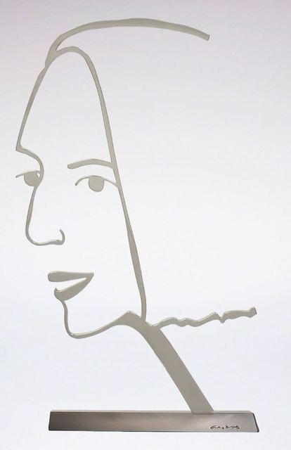 Alex Katz, 'Ada 2 (Outline)', 2018, Frank Fluegel Gallery