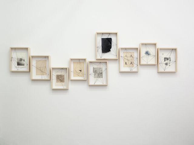 , 'Own fragments 1-9,' 2014, Chimera-Project Gallery