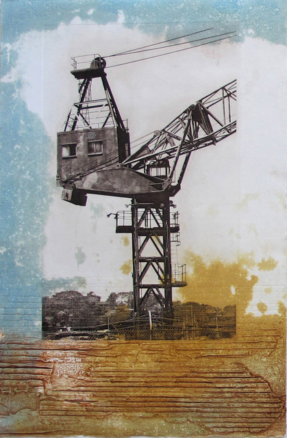 , 'Vestige XI,' 2014, Sydney Printmakers