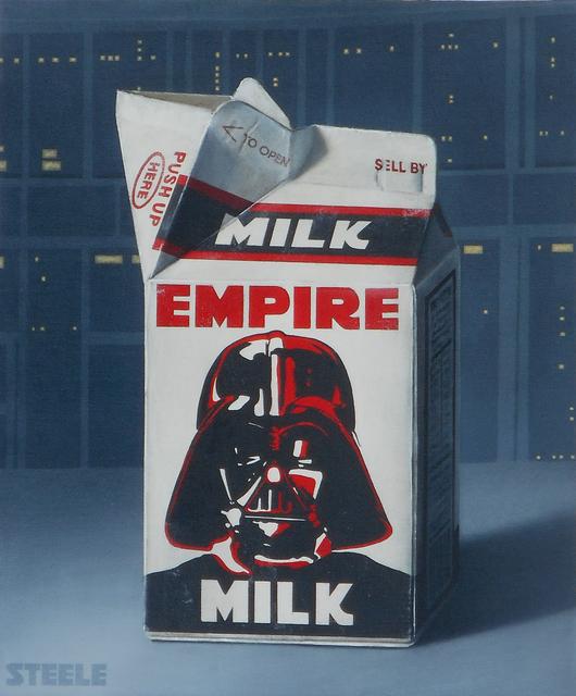 , 'Empire Milk,' 2018, Modern West