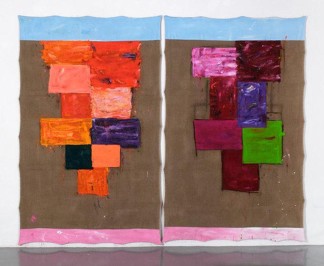 , 'Über Malerei 577,' 2015, PRISKA PASQUER