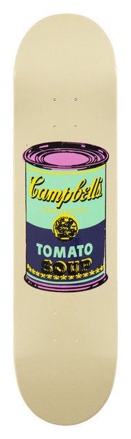 Andy Warhol, 'Colored Campbell's Soup Eggplant', 2019, Installation, Screenprint on 7 ply grade A  Canadian maple wood., artrepublic