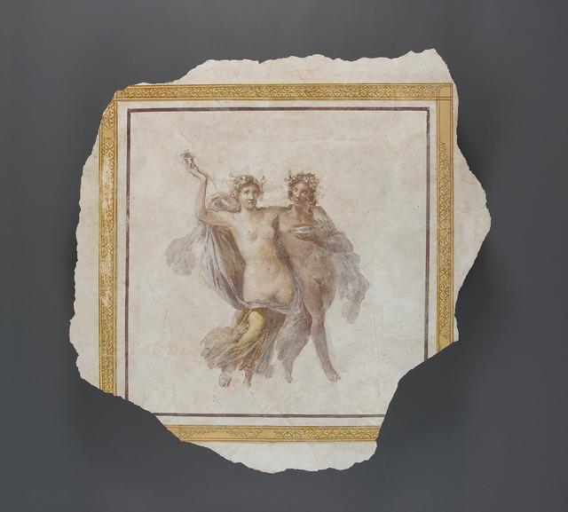 'Fresco Panel Depicting Dionysos and Ariadne',  1st century, J. Paul Getty Museum