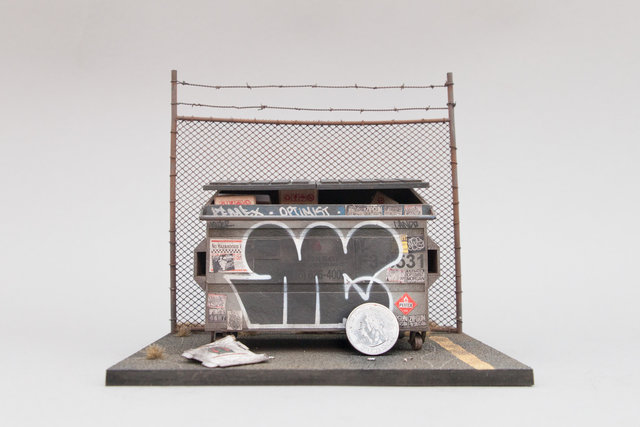 , 'Dumpster,' 2017, Muriel Guépin Gallery