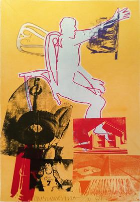 Robert Rauschenberg, 'Portrait of Merce', 1984, Meijler Art