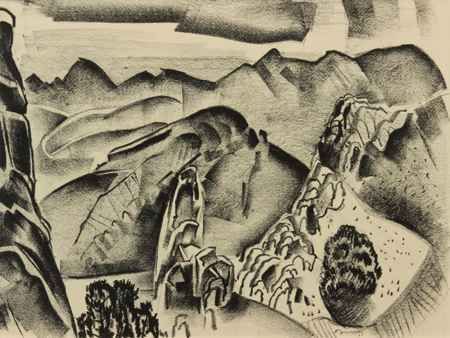 , 'New Mexico Landscape,' 1927, Addison Rowe Gallery