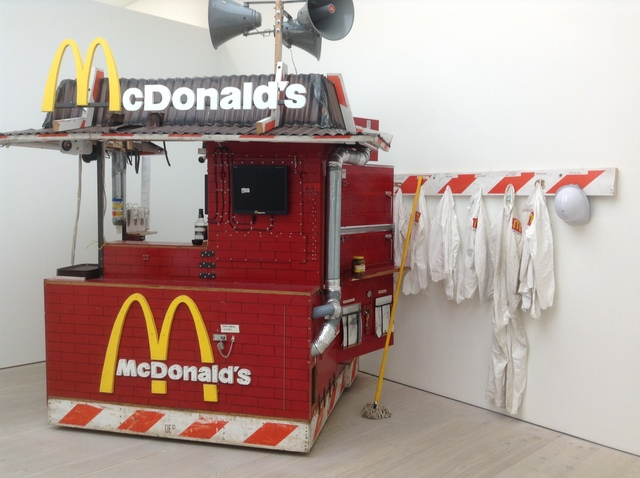 Tom Sachs, 'Nutsy's McDonald's', 2001, Sculpture, Triennale Design Museum