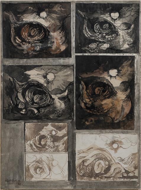 , 'Seligheit I,' 1944, Osborne Samuel