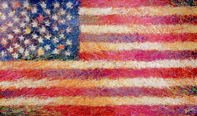 , 'American Flag,' 2015, Angela King Gallery