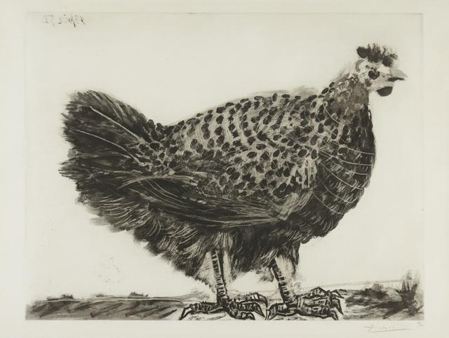 Pablo Picasso, 'La Poule (B. 694; Ba. 896)', 1952, Print, Aquatint and drypoint, Sotheby's