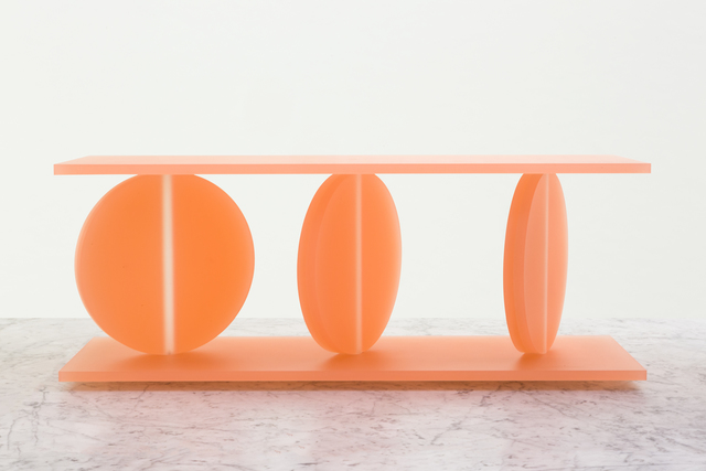 ", '""The Moment of Eclipse"" (orange),' 2015, Chamber"