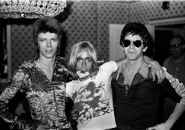 Mick Rock, 'David Bowie, Iggy Pop, Lou Reed, London's Dorchester Hotel 1972', 1972, Mouche Gallery