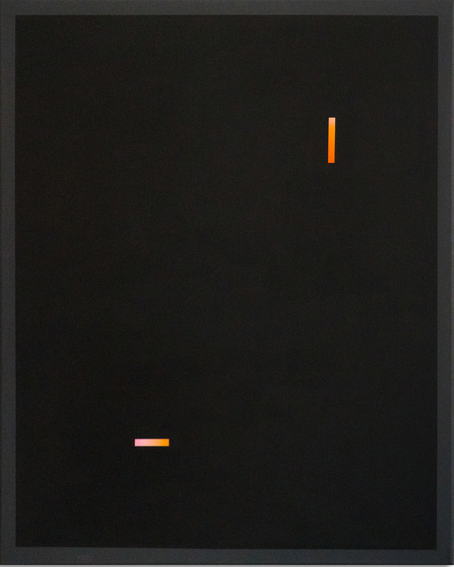 RAWS, 'Black Minimalism I', 2019, Urban Spree Galerie