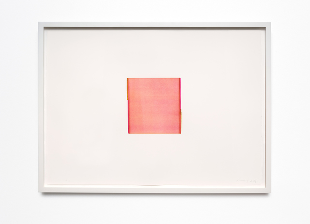 Callum Innes, 'Quinacridrone Magenta / Gold Green (no. 6.)', 2013, Drawing, Collage or other Work on Paper, Watercolour on 600gsm Fabriano Artistico HP, i8 Gallery