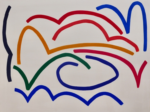 , 'Untitled (4.25),' 2018, The Dot Project