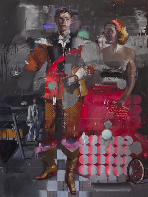 , 'Paar,' 2015, Josef Filipp Galerie