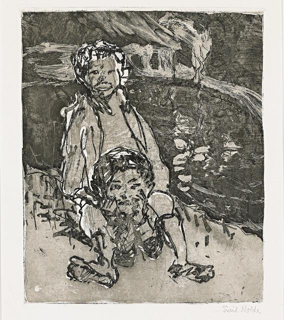 , 'Jungs,' 1912, Galerie Herold