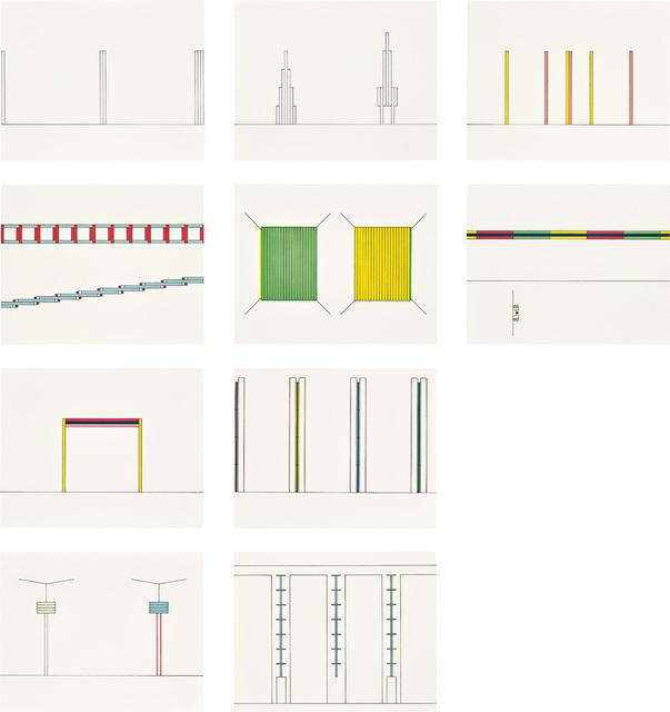 Dan Flavin, 'Projects 1963-95', 1996-97, Phillips