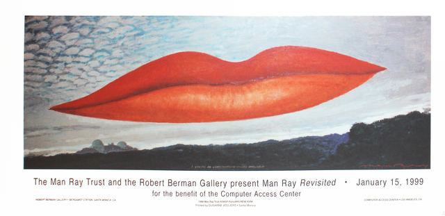 Man Ray, 'Man Ray Revisited Exhibition Poster', 1999, Robert Berman Gallery
