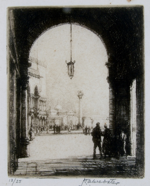 Herman Armour Webster, 'Piazza San Marco, Venice', ca. 1930, Private Collection, NY