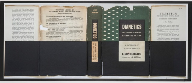 ", 'ST. Portada ""Dianetics.The modern Science of Mental Health"". Hubbard,' 2015, Marta Moriarty"