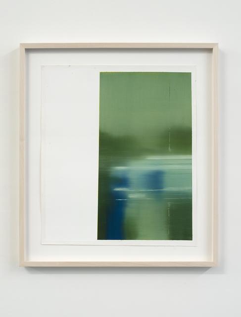 , 'Study for aerodrome I,' 2014, Galerie Laurence Bernard