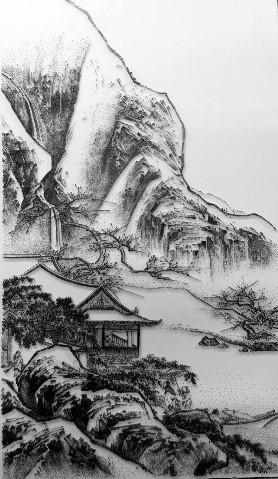 , 'Imitating the Landscape painting by Anonymous Artist from Song Dynasty 2,' 2016, Double Square Gallery