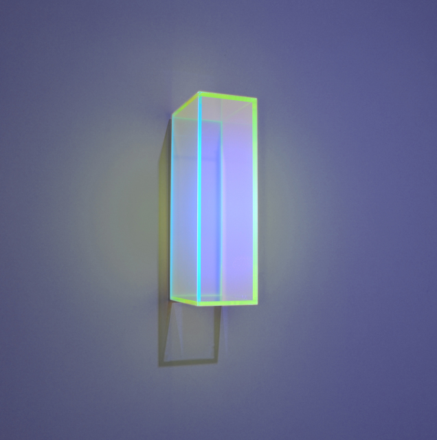 , 'Colormirror glow soft green,' 2015, Dep Art Gallery