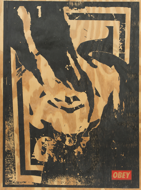 Shepard Fairey, 'Obey Ripped', 2001, Julien's Auctions