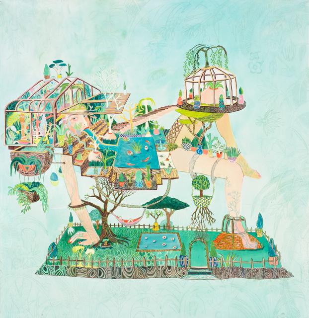 , 'Greenhouse girl  ,' 2015, Commune 1