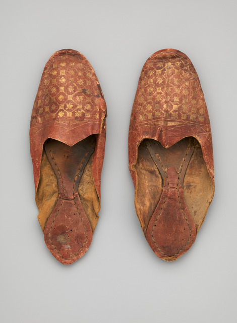 , 'Shoe, Egypt, Akhmim-Panopolis,' 4th-7th century AD, Bard Graduate Center Gallery