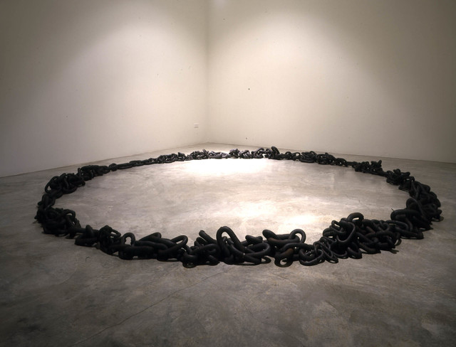 , 'Untitled (ring of chain),' 1995, L.A. Louver