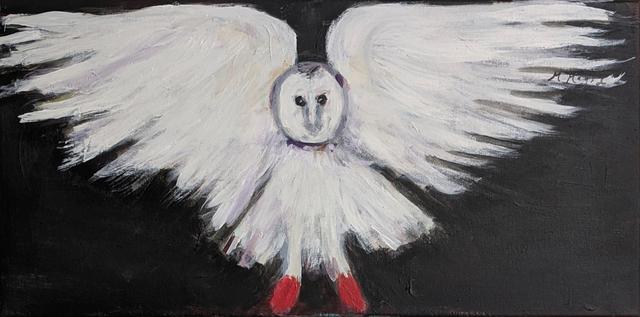 , 'Barn Owl,' 2019, Emerge Gallery NY