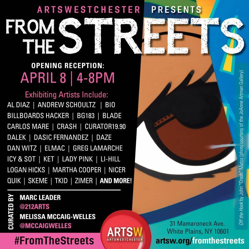FROM THE STREETS FLYER