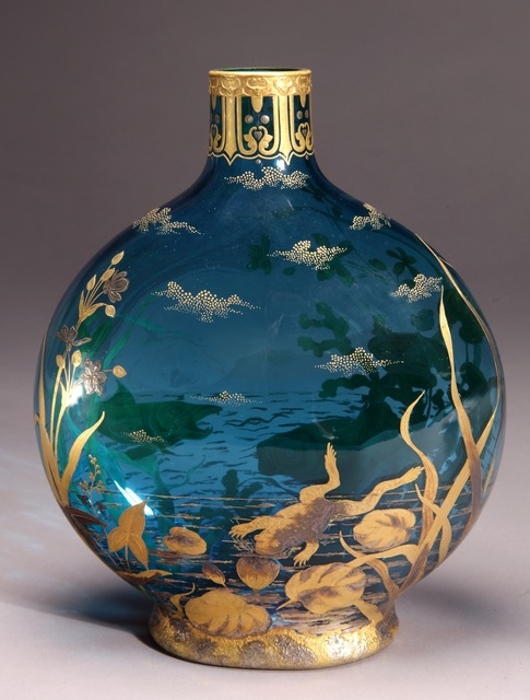 , 'Moon Flask,' ca. 1890, New Orleans Museum of Art